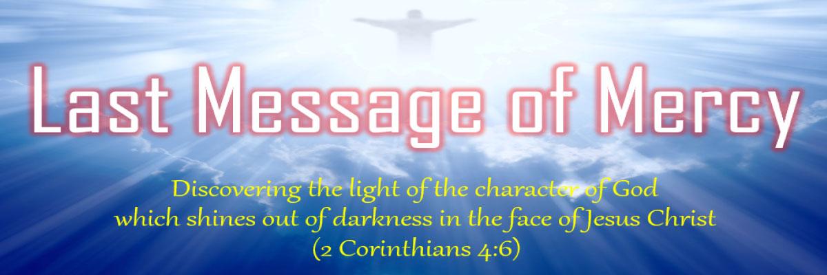 last message of mercy